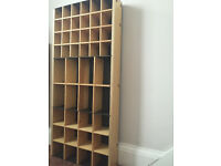Display Unit with shelving made of solid wood & metal ideal for retail or home use
