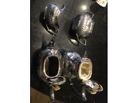 Vintage silver tea set