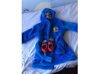 Boys paw patrol dressing gown and slippers