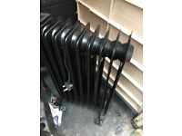 Black oil filled radiator 2kw good condition