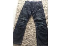 3 pairs mens jeans crosshatch