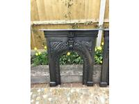 Antique Victorian Fire Surround (Cast Iron)