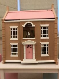 MOVING SALE - JOHN LEWIS DOLL HOUSE WITH ACCESSORIES