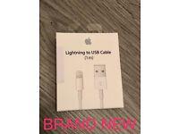 Original Apple Lightening to USB Cable - Brand New - Sealed Box - £20