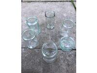 Glass Jar Assortment wedding x 150