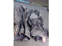 Ladies motorcycle gloves size sx