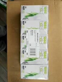 Selection of light bulbs