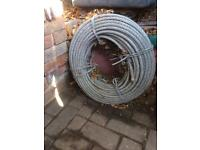 100m cable 12/14mm. £40