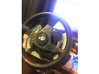 Thustmaster steering wheel