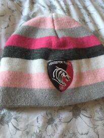 Girls Leicester Tigers hat