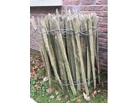 Fencing - Chestnut Paling (2 wire) 18m roll x 900mm