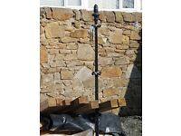 4 x Antique Wrought Iron Washing Poles.