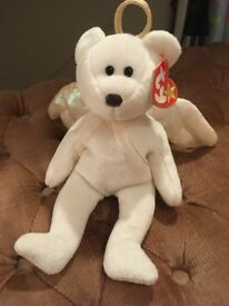 Excellent condition Halo beanie baby bear