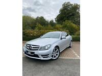 Mercedes C class C220 Coupe Amg FSH MUST SEE Like bmw 3 series, 1 series,golf