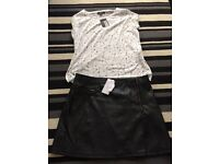 Woman's size 16 top and skirt new with tags