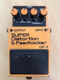 Boss DF-2 Super Distortion & Feedbacker - JAPAN 1984 lawsuit model