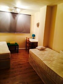 AMAZING BRIGHT TWIN ROOM HABITACION, 5 MNTS TUBE CANARY WHARF, CANNING TOWN 3 MNTS WALK, ZONE 2, R1