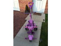 Little Tikes Purple 4 in 1 Trike