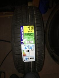 One brand new tyre for Mini to sell 195/55 R16