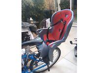 Hamax Kiss rear child bike seat