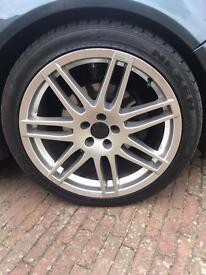 Audi Rs4/Le mans style alloy wheels 5x100 VW VAG