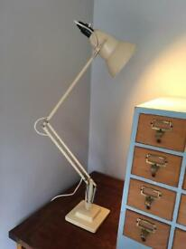 Vintage mid century Herbert Terry angle poise lamp light industrial