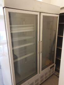 Polar Display Freezer with Light Box 920 Lt BARGAIN !