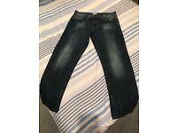 Firetrap Blackseal Jeans, 34x32 - £10