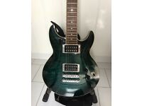Stunning Turquoise Ibanez Electric Guitar