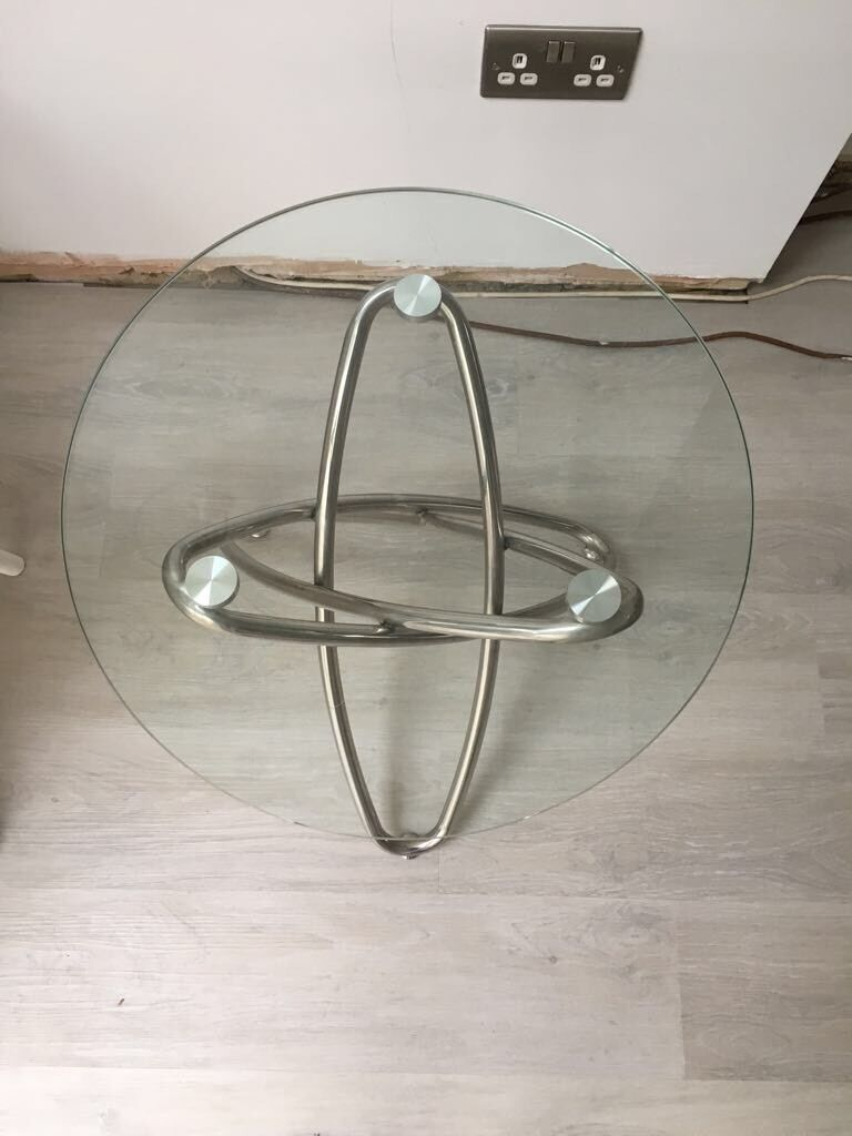 Round Glass Coffee Table From Dwell In Bexley London Gumtree
