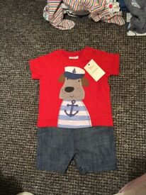 Next Baby Outfit (All in One) 3-6 Months
