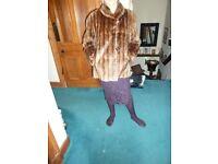 Real Fur Vintage Short Length Jacket