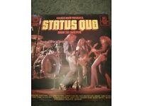 Status Quo vinyl lp