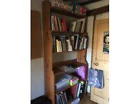 Bookshelves 2m tall by 93cm