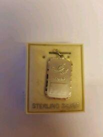 9c9e82312afd 925 silver Scorpio pendant  charm