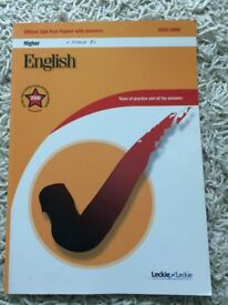 Leckie Leckie Higher English Past Papers 2003-2006 with Answers
