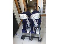 Maclaren twin buggy/ pram