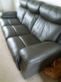 3 piece leather suite. Excellent condition