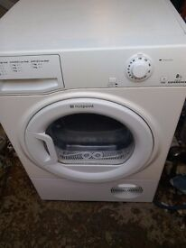 Hotpoint experience tcem80c 8kg condenser dryer free local delivery allelectricals
