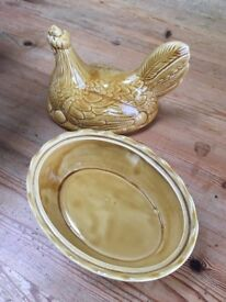 Vintage chicken egg holder - china