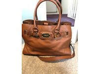 Genuine Michael Kors leather handbag, immaculate condition, hardly used