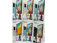 SAMSUNG A71 UNLOCKED BRAND NEW BOXED OPEN ON ALL NETWORK AND SAMSUNG WARRANTY
