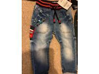 Next jeans 9-12 months