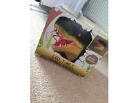 T-Rex 3D wall light brand new