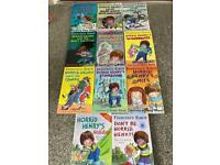 11 Horrid Henry books