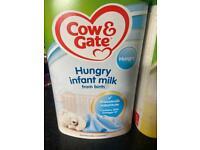 Free baby milk