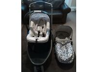 Mothercare TUSK special edition travel system. Newborn - 3 years