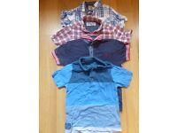 Boys Short sleeve shirts Age 3-4 years