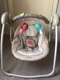 Bright starts cosy kingdom swinging chair