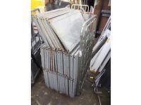 Job lot of 40+ dexion style metal shelves 91cm X 45.5cm